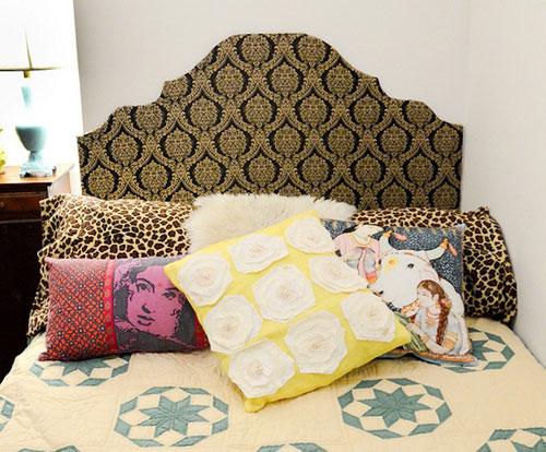 bed behangpapier