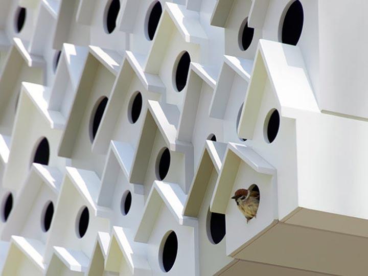 creatieve vogelhuisjes