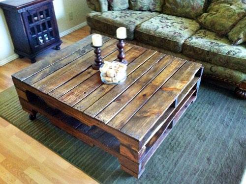 salontafel van paletten