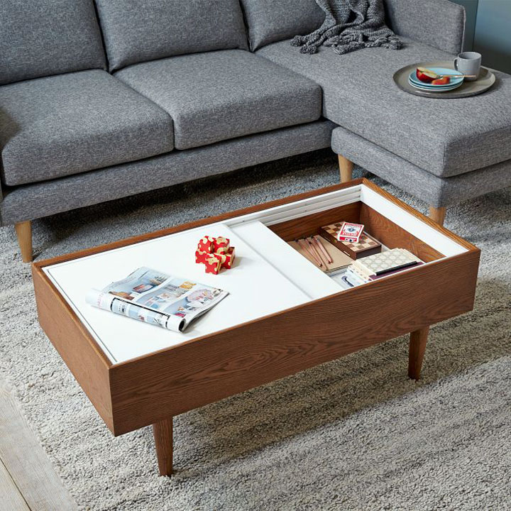 Augustan Coffee Table: 11 Manieren Om Je Salontafel Op Te Frissen