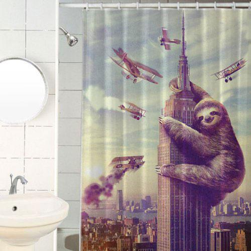 10 Trendy Douchegordijnen om je Badkamer op te Fleuren - woonmooi
