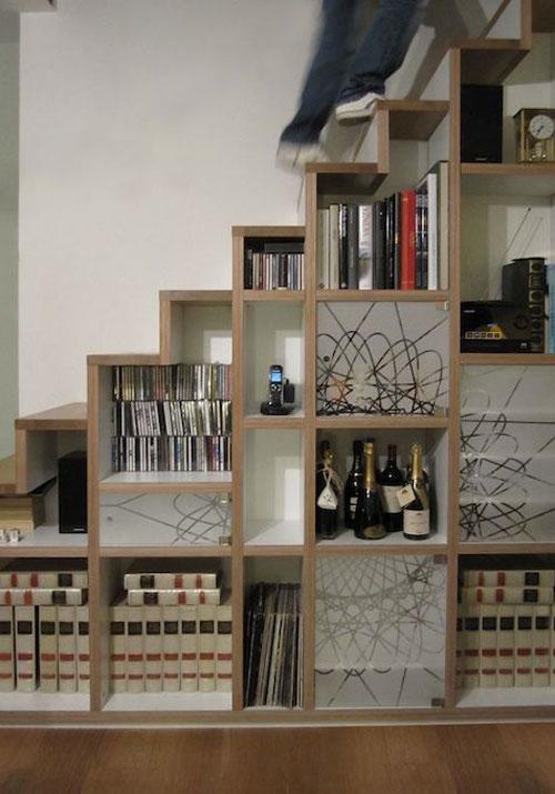 trap-boekenkast-3 - woonmooi