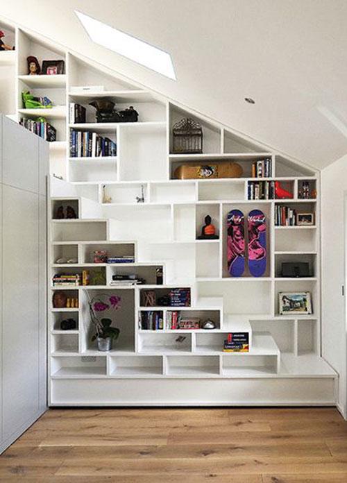 Inspiratie Trappen Met Ingebouwde Boekenkasten Woonmooi