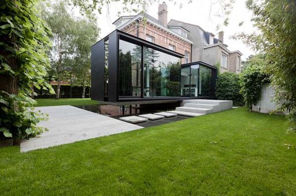 moderne extensie huis