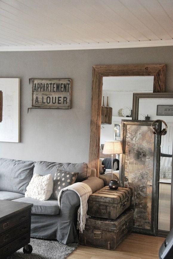 Woonkamer raamdecoratie beste inspiratie voor huis ontwerp - Woonkamer spiegel ...