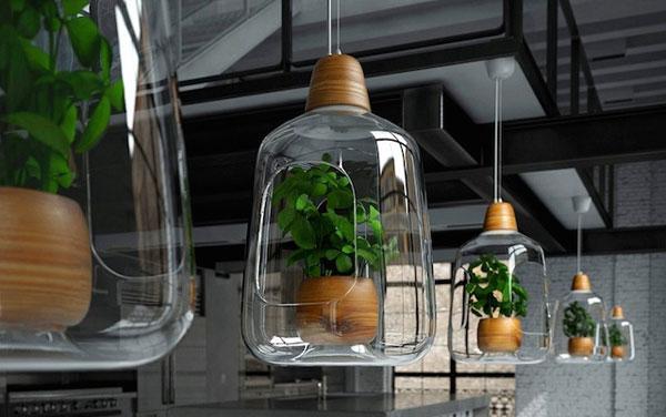 hanglamp voor planten