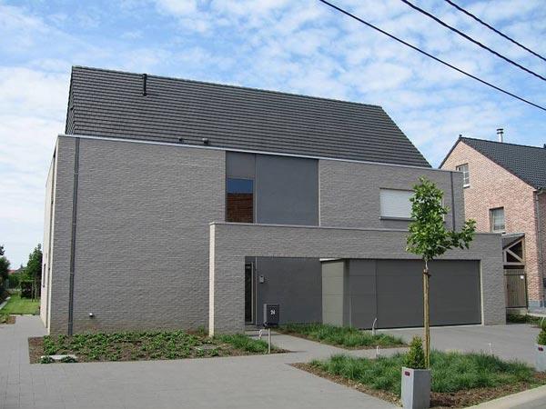 Ingebouwde afvoerbuizen mooi maar subtiel woonmooi - Moderne uitbreiding huis ...