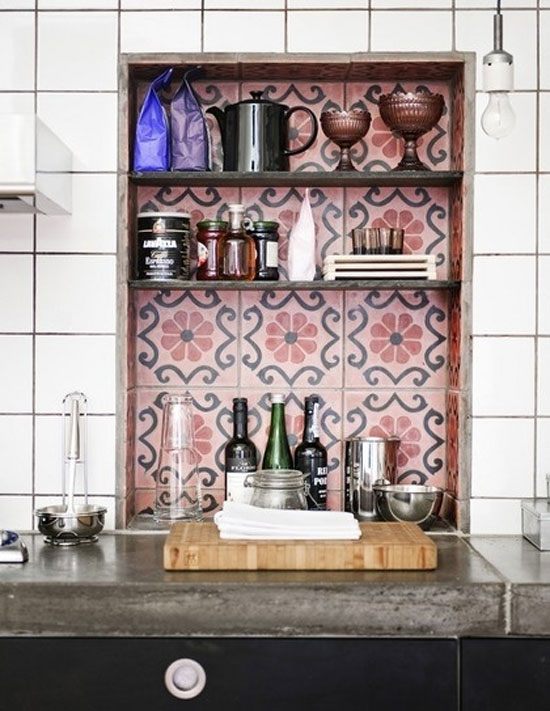 Keukens met marokkaanse tegels woonmooi - Keuken met cement tegels ...