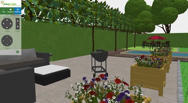Teken Je Tuin : Online je tuin ontwerpen met tekenmijntuin woonmooi