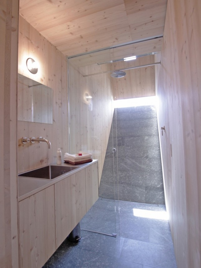 Rondleiding in een Futuristische Skihut - woonmooi