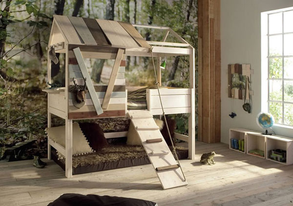 lifetime kinderkamer boomhut