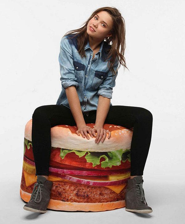 hamburger zitzak