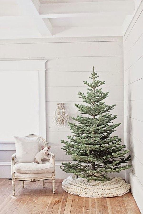 kerstboomvoet versieren