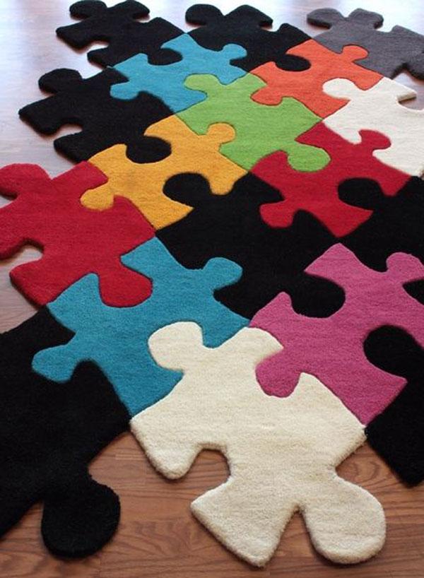 puzzeltapijt voor in de speelkamer