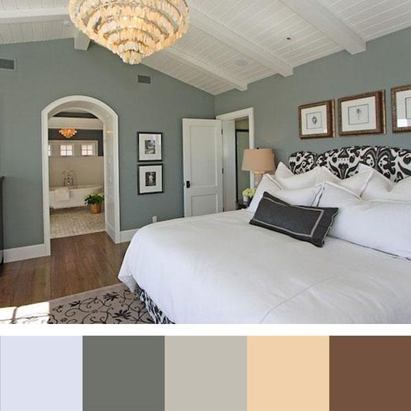 8 kleurenschema 39 s voor een stijlvolle slaapkamer woonmooi - Kamer kleur idee ...