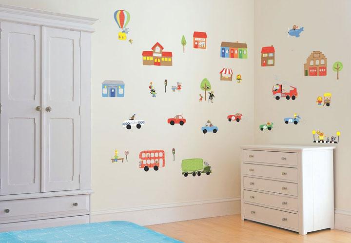 Muurdecoratie Voor Slaapkamer : Speelse Muurdecoratie voor Coole ...