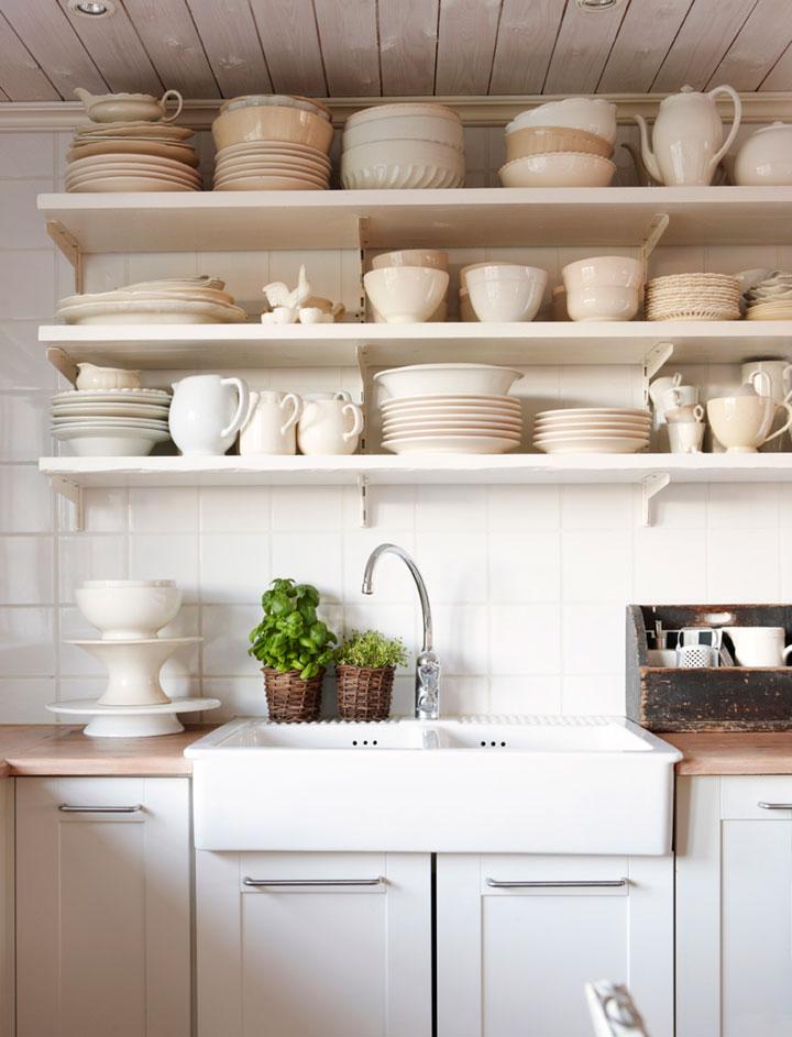 Open Keuken Of Niet : Tips voor Open Wandplanken in de Keuken – woonmooi