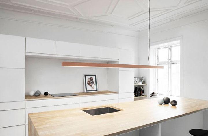 Keukeneiland Verlichting : Handgemaakte Hanglampen van het Deense Anour – woonmooi