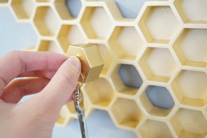 Tegels Keuken Honingraat : Honingraat in huis voor bijenliefhebbers woonmooi