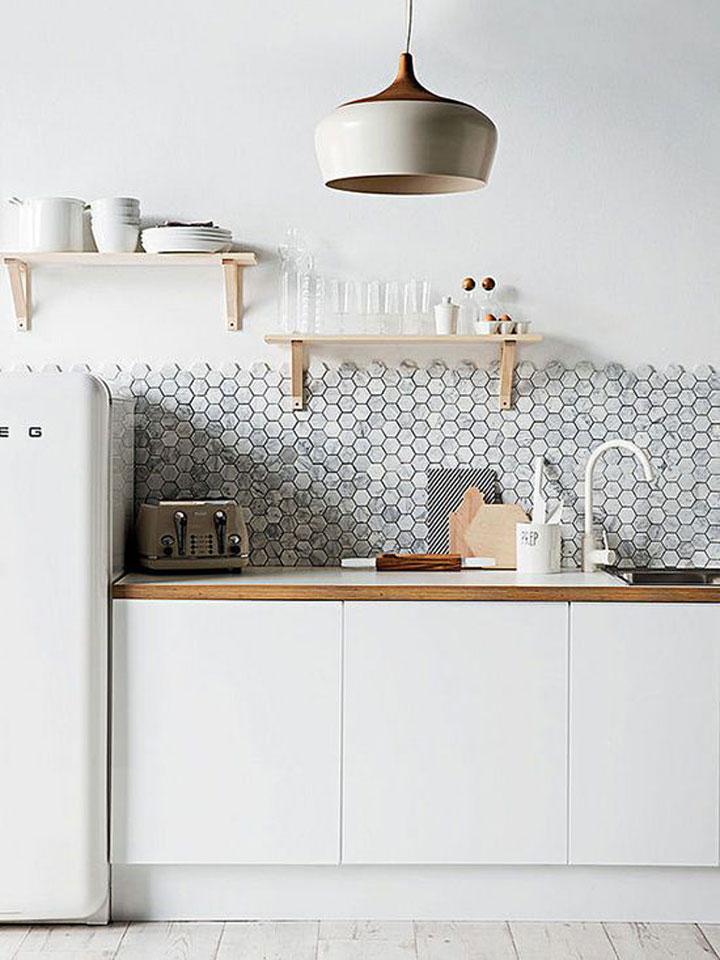 Keuken Wandtegels Ikea : heeft uiteraard deze honingraat tegels in zijn/haar keuken