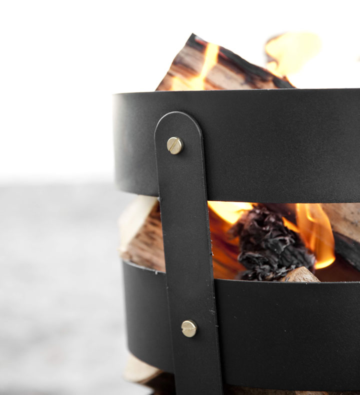 menu fire basket