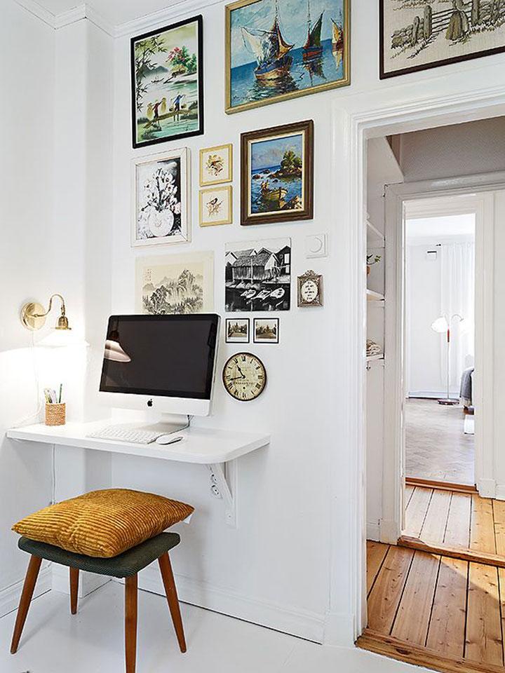 mini kantoor thuis