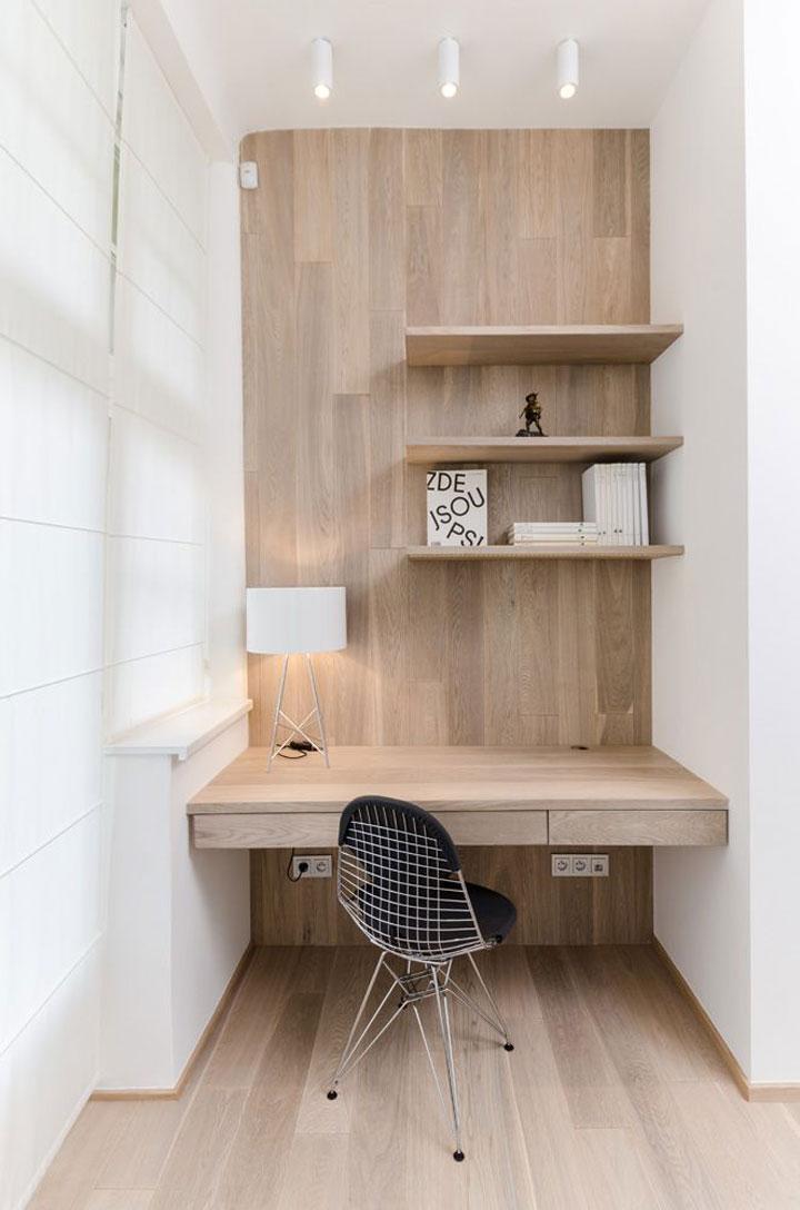 Kleine ruimte hip kantoor woonmooi - Kamer en kantoor ...