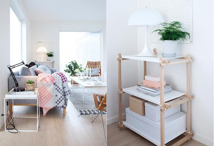 trendy scandinavisch interieur