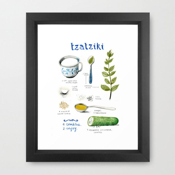 tzatziki poster