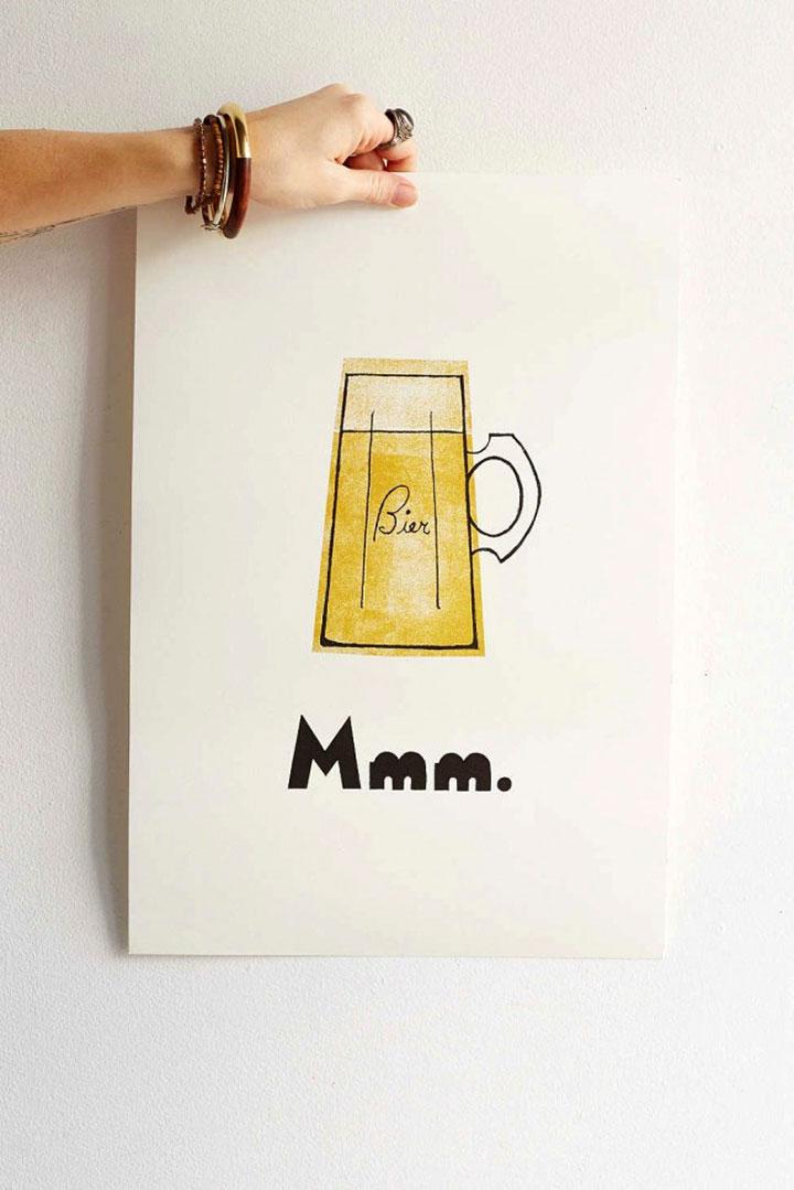 mmm bier poster