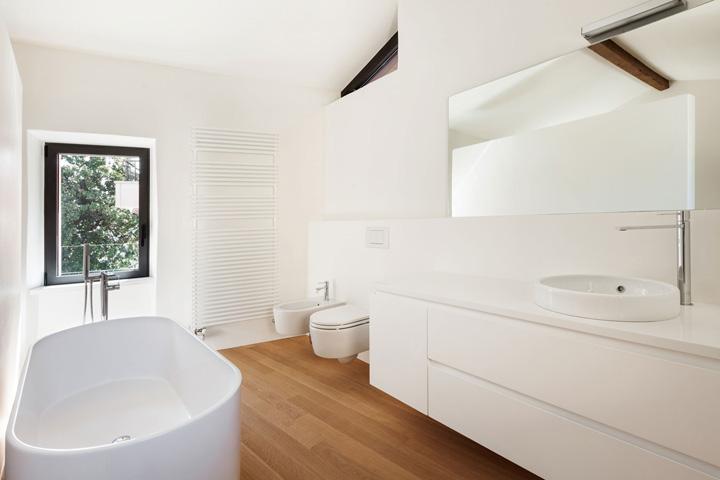 laminaat in de badkamer - woonmooi, Badkamer