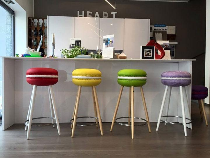 Barkrukken Keuken Design : Macaron Barkrukken van LIVING Design Studio – woonmooi