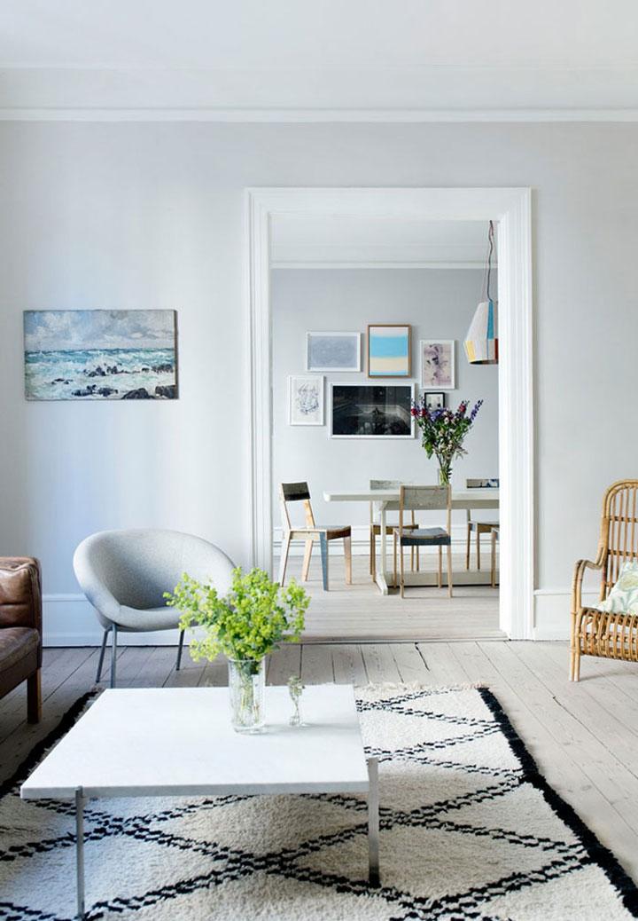 Luchtig Appartement met Noorse Charme - woonmooi