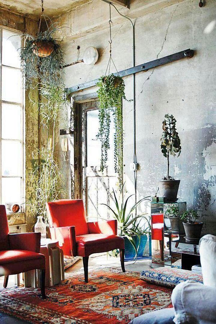 rood vintage marokkaans tapijt
