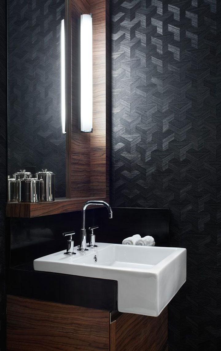 badkamer behangpapier