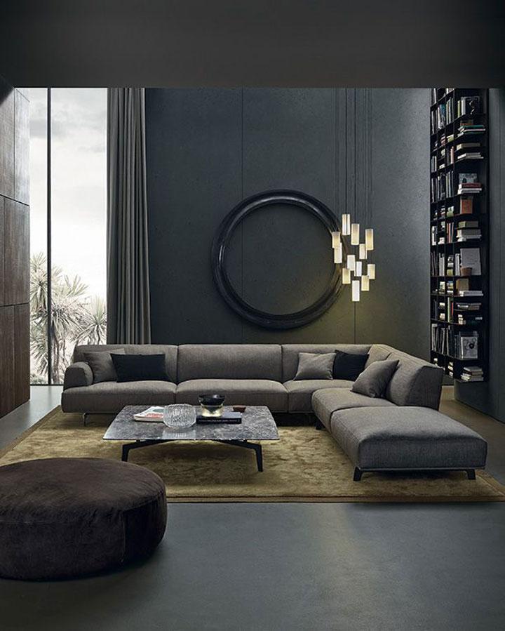 ideeen voor de aankleding van een woonkamer