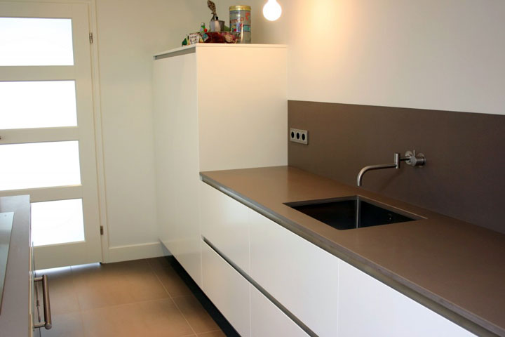 Spatwand Keuken Inox : Achterwand Keuken Jepp Keukens Pictures to pin on Pinterest