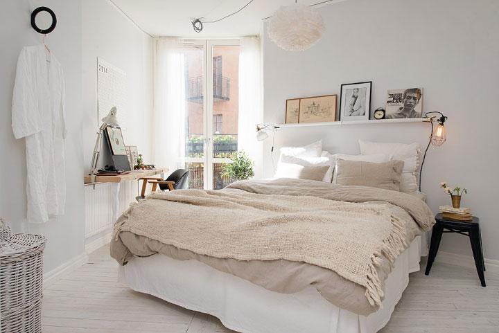 7 decoratie idee n voor de ruimte boven je bed woonmooi - Decoratie voor slaapkamer ...