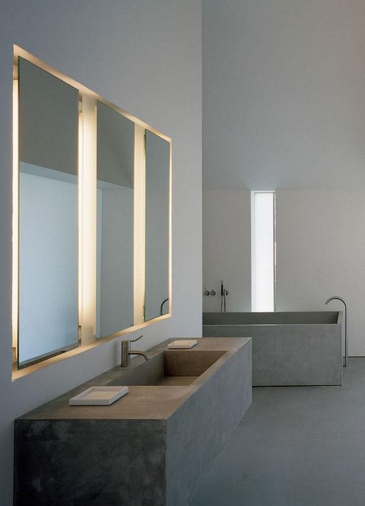 indirecte verlichting badkamer