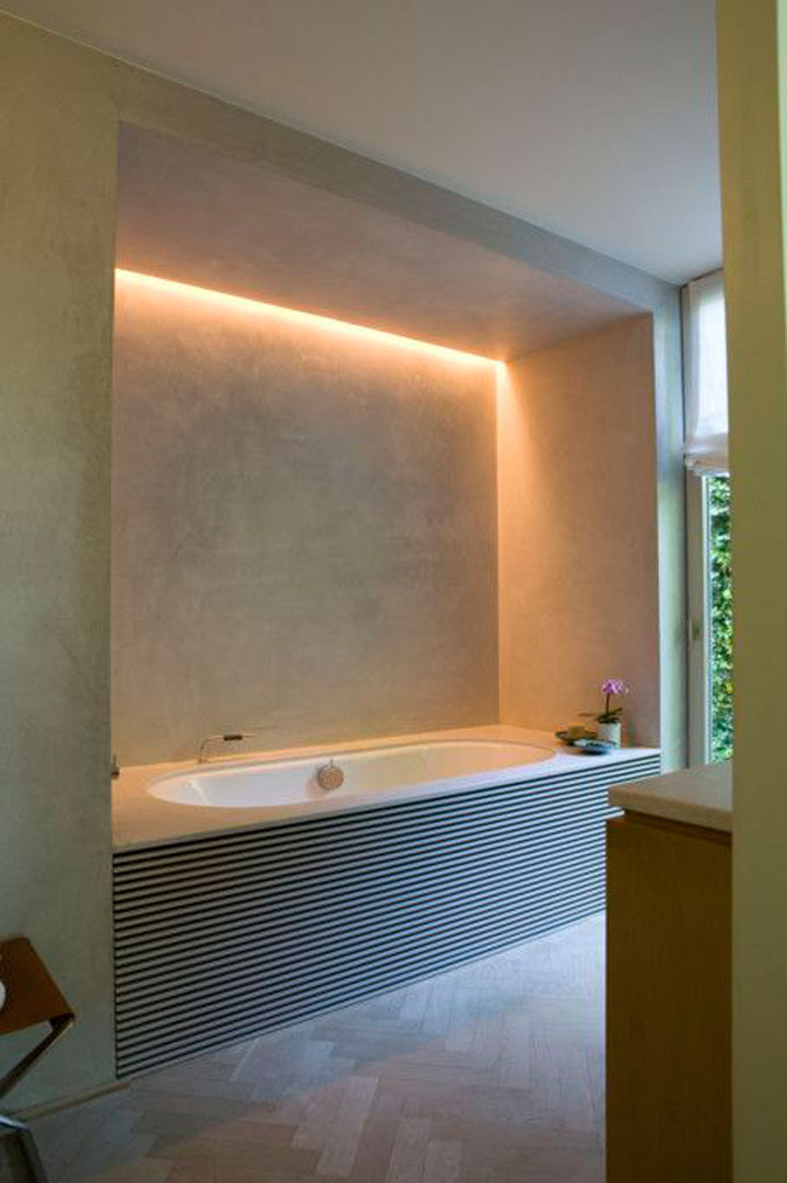 Badkamers Met Indirecte Verlichting Woonmooi