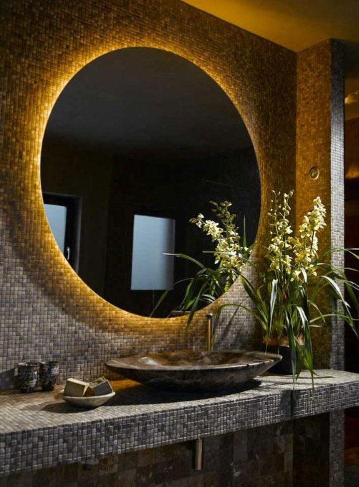 Kleine Badkamer Voorbeeld ~ Wellnessgevoel in de Badkamer met Indirecte Verlichting