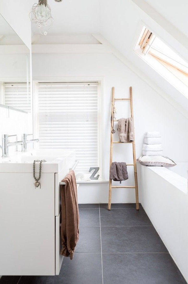 ladder voor handdoeken