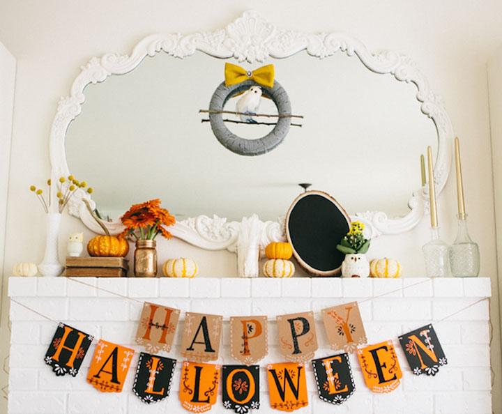 halloweenversiering interieur