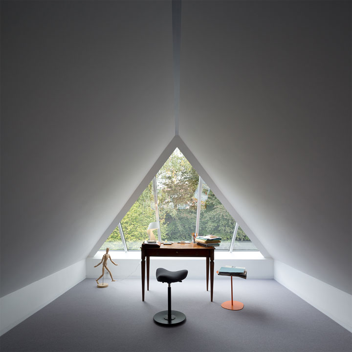 minimalistisch bureau