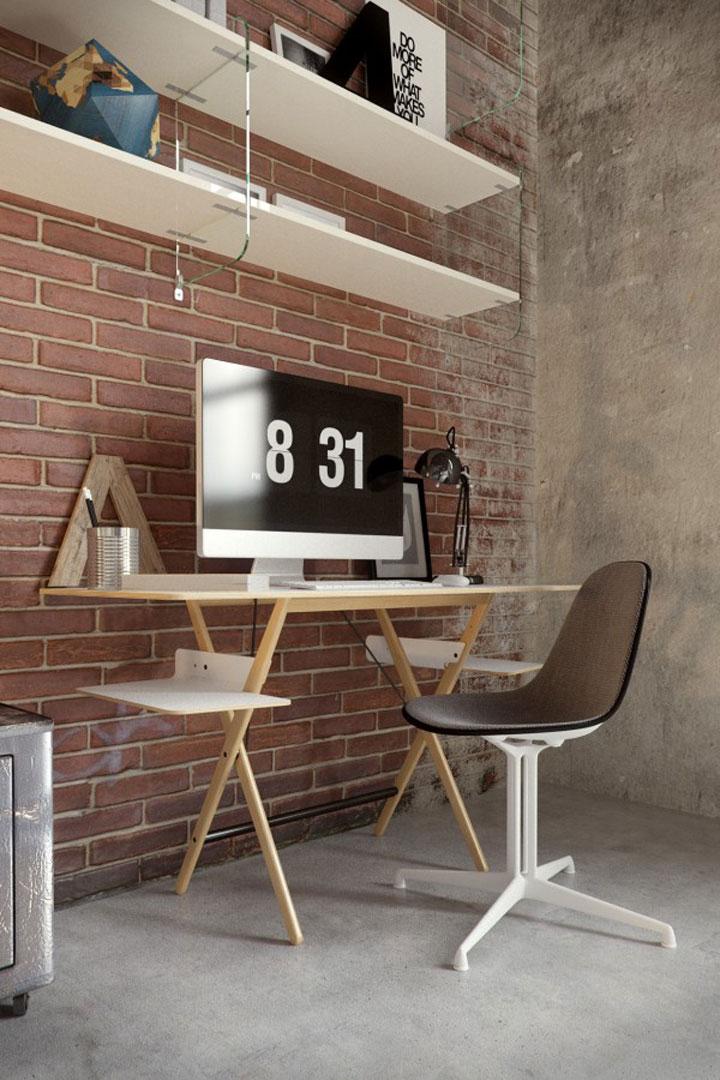 bureau minimalisme