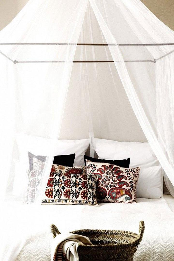 klamboe bed slaapkamer