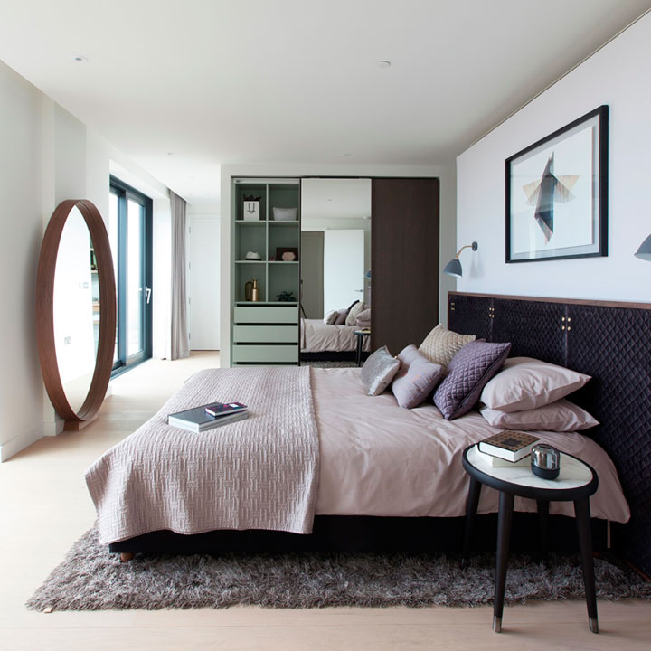 tapijt onder bed