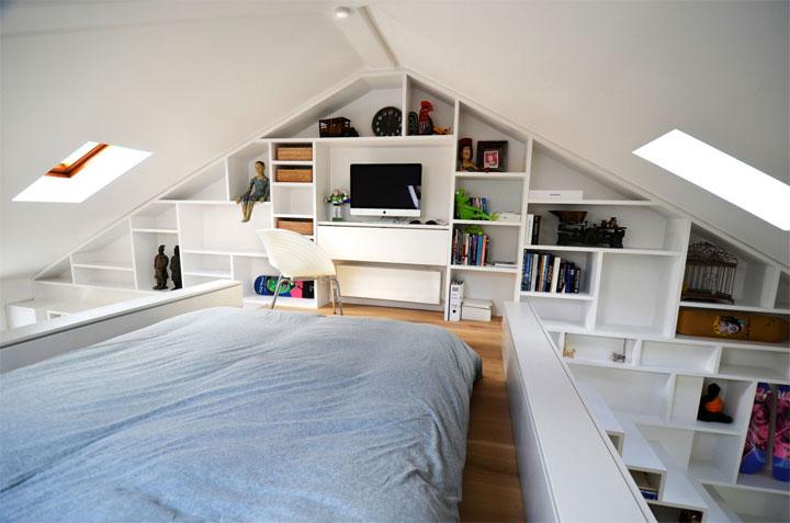 Tips om van je zolder een slaapkamer te maken - woonmooi
