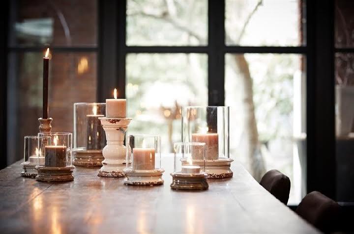 riverdale kaarsen op tafel