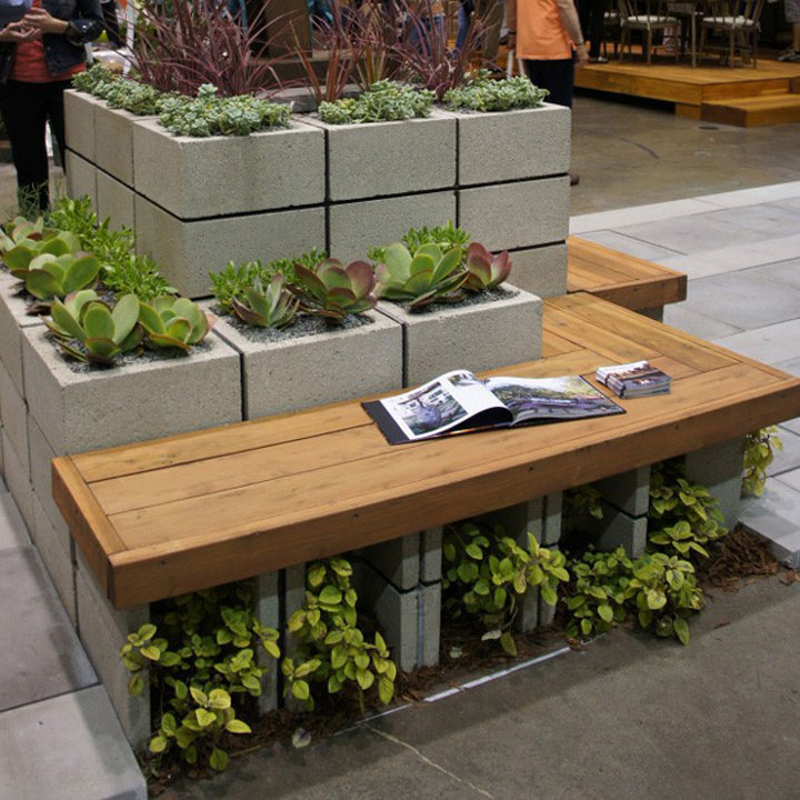 plantenbak betonblok